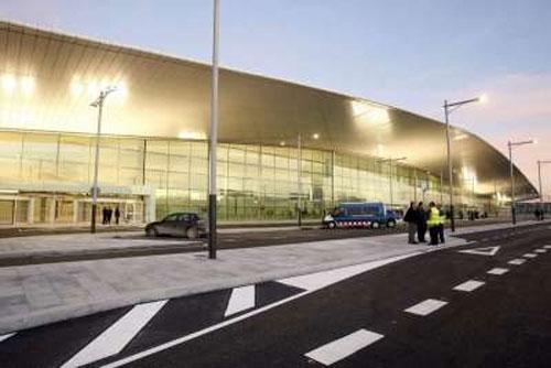 El-Prat lotnisko Barcelona