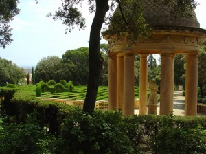 Parc del Laberinth, Barcelona, Scene from Perfume