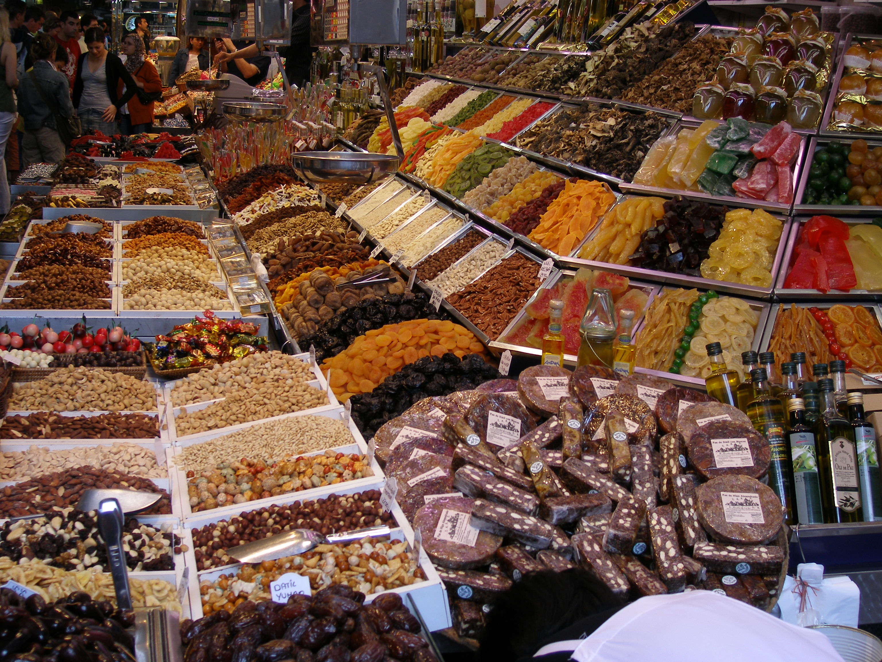 La Boqueria Market - Best Hotels in the Area and Gourmet Food Tour