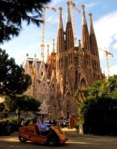 GoCar Tours Barcelona Sagrada Familia