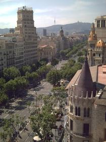 グラシア通りバルセロナ