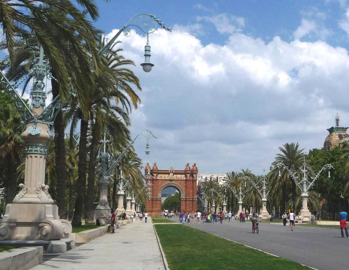 الربيع في برشلونة