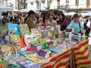 Bookstands- Barcelona Diada Sant Jordi
