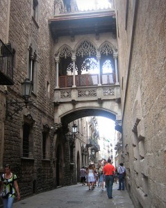 Gothic Quarter Barcelona. The best places to stay in Barcelona