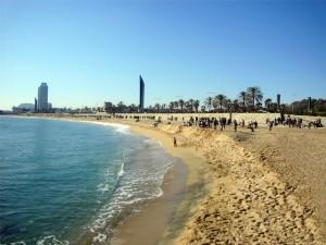 Bogatell Beach, Barcelona