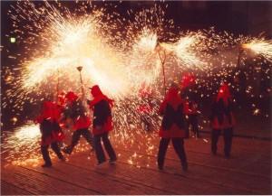 Correfoc, Festa Major de Gràcia