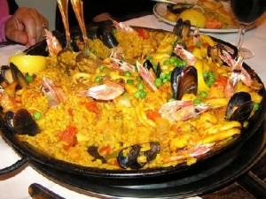 Seafood Paella, Barcelona