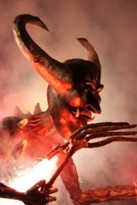 Correfoc Devil, Barcelona