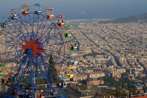 Тибидабо Колесо обозрения, Барселона