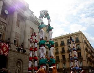 Castellers, La Mercè Barcelona