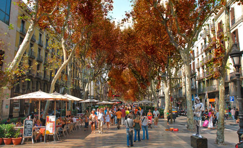 Autumn in Barcelona