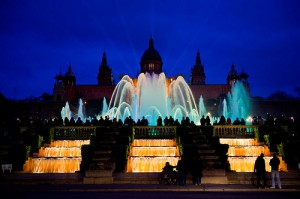 Montjuïc Magic Fountain Show