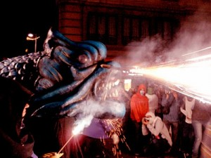 Fire Run, Sa Pobla Festival, Barcelona