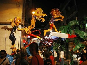 Giant Dragons, Traditional Custom, Barcelona Festival