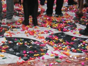 Guerra de Caramelos, Carnaval Sitges, Vilanova