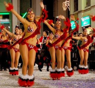 Sitges Carnival Parades