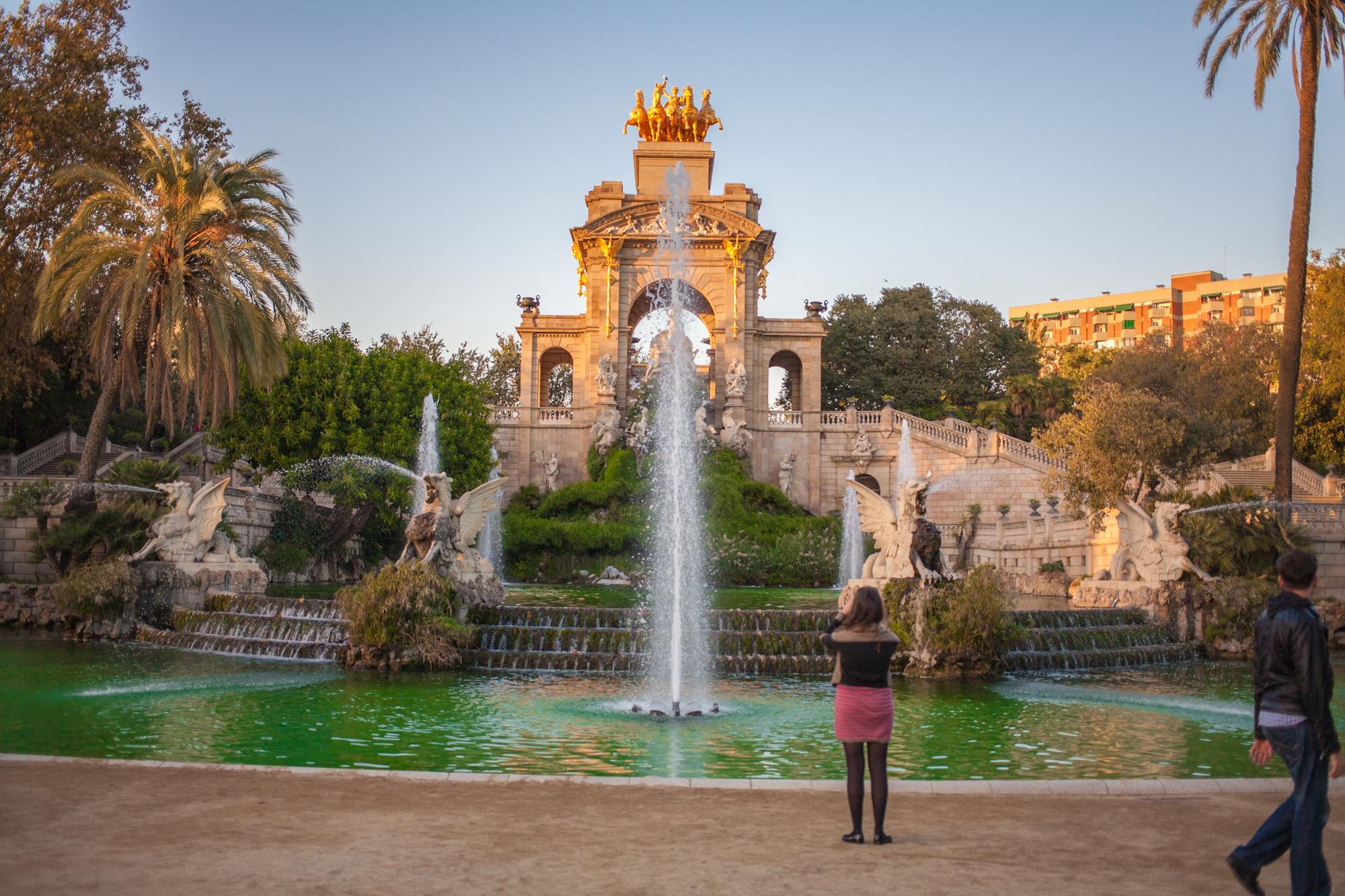 top 5 parks in barcelona. Black Bedroom Furniture Sets. Home Design Ideas