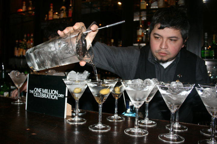 Dry Martini Cocktails