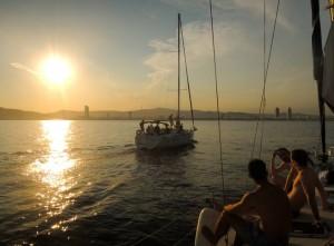 skyline bcn sailing trip