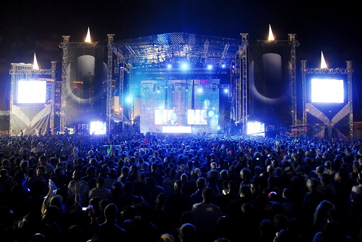 Sónar Festival Barcelona (Photo via. Official Sónar 2013)