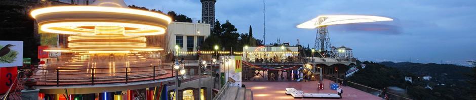 Tibidabo Amusement Park, Barcelona