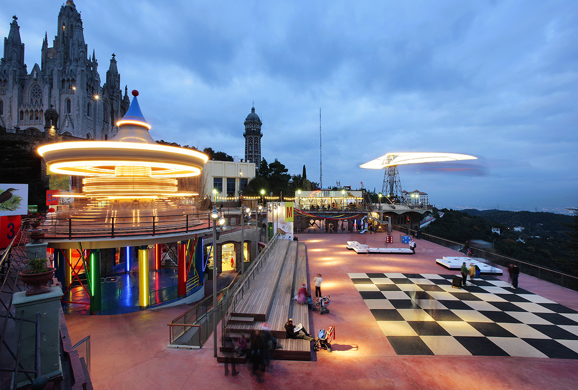 Тибидабо парк развлечений, Барселона