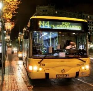 Nitbus, Barcelona
