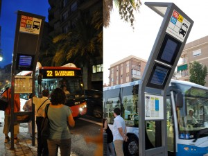 Bus stops, Barcelona