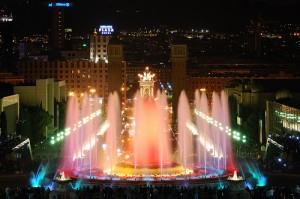 Magic Fountains of Barcelona