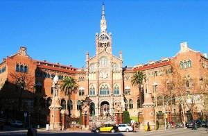 Barcelona, het Ziekenhuis Sant Pau