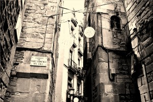 Barcelona zsidó negyed