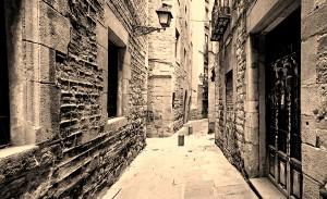 Barri jueu, Barcelona