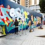 Endessa Паралельна Барселона Street Art
