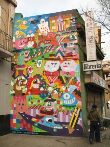 street art gótico barcelona