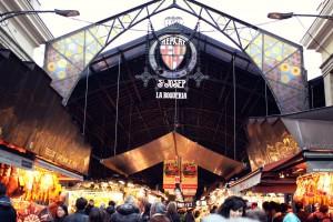 Boquería市场巴塞罗那