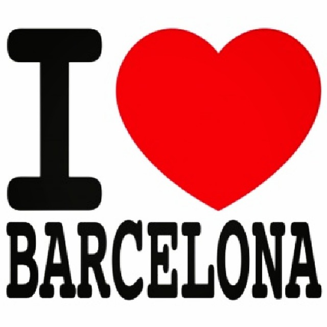 Tal spænska Barcelona