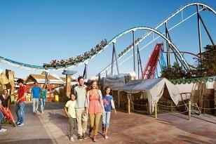 dzieci parku rozrywki PortAventura
