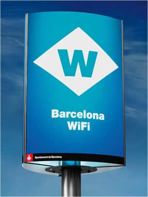 Βαρκελώνη, δωρεάν Wi-Fi,