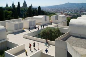 Fundacio Joan Miro u Barceloni