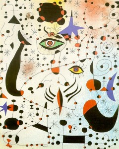 Joan Miro Abstract Pikturë