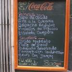 Menú дель Діа