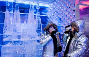 Ice Bar Barcelona скульптура