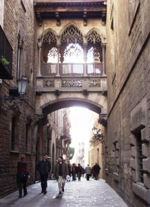 Barri Gòtic in Barcelona