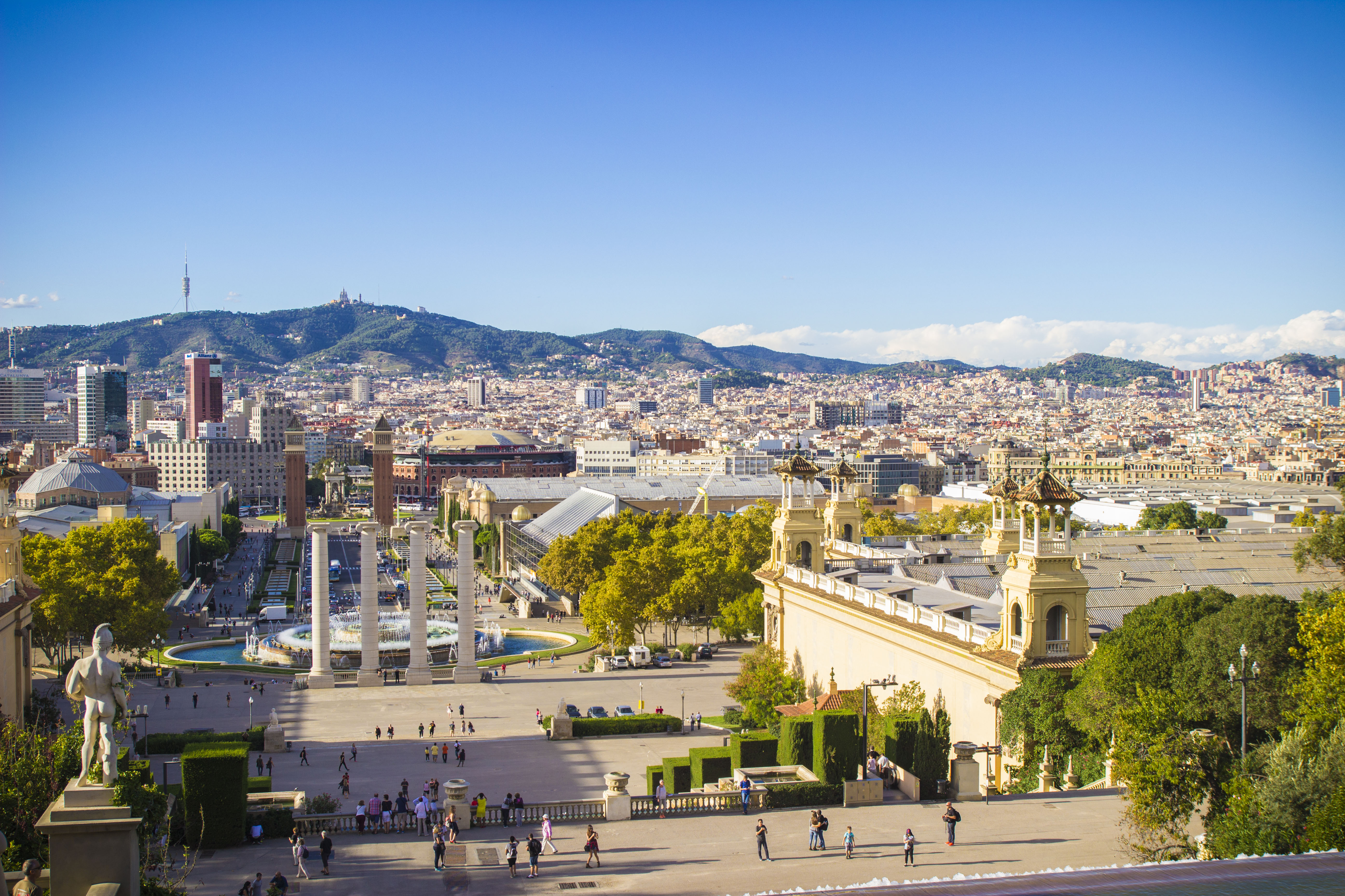 the best views of barcelona visiting barcelona