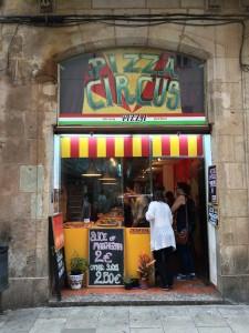 pizza circus Barcelona
