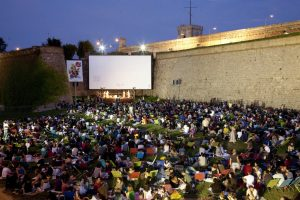 Montjuïc outdoor cinema